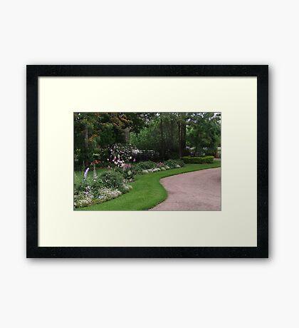 Rosalee Cottage Garden! Framed Print