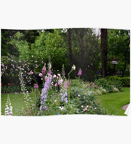 Springtime Flowers! Poster