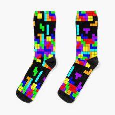 Tetris Making Tetris Fall Socks