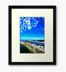 Merewether Baths Framed Print