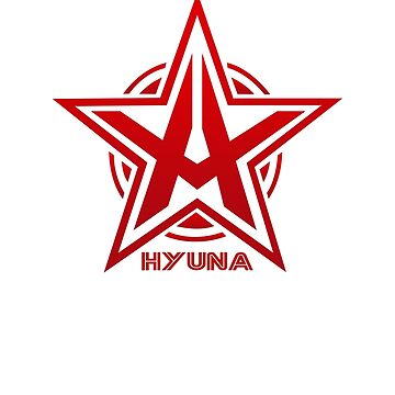 Hyuna Star Logo by madiamondring