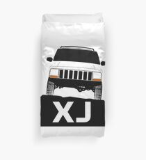 Jeep Cherokee XJ Off Road Duvet Cover