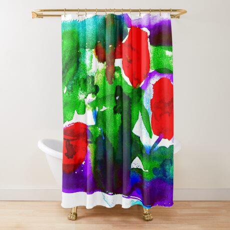 BAANTAL / Pollinate / Evolution #2 Shower Curtain