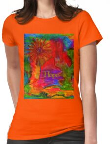 Brighter Days Ahead Womens Fitted T-Shirt