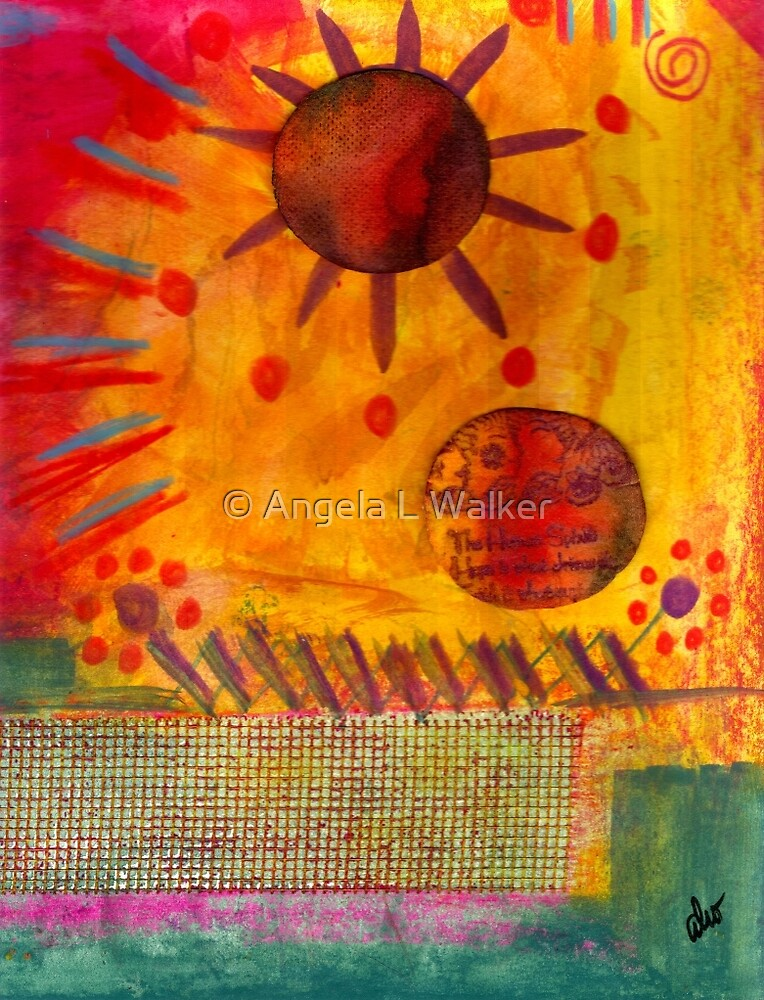 The Sun Shines on US the Same by © Angela L Walker