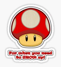 Grow Up! Sticker