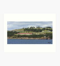 Iona, Nova Scotia Art Print