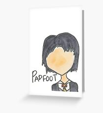 Padfoot Greeting Card