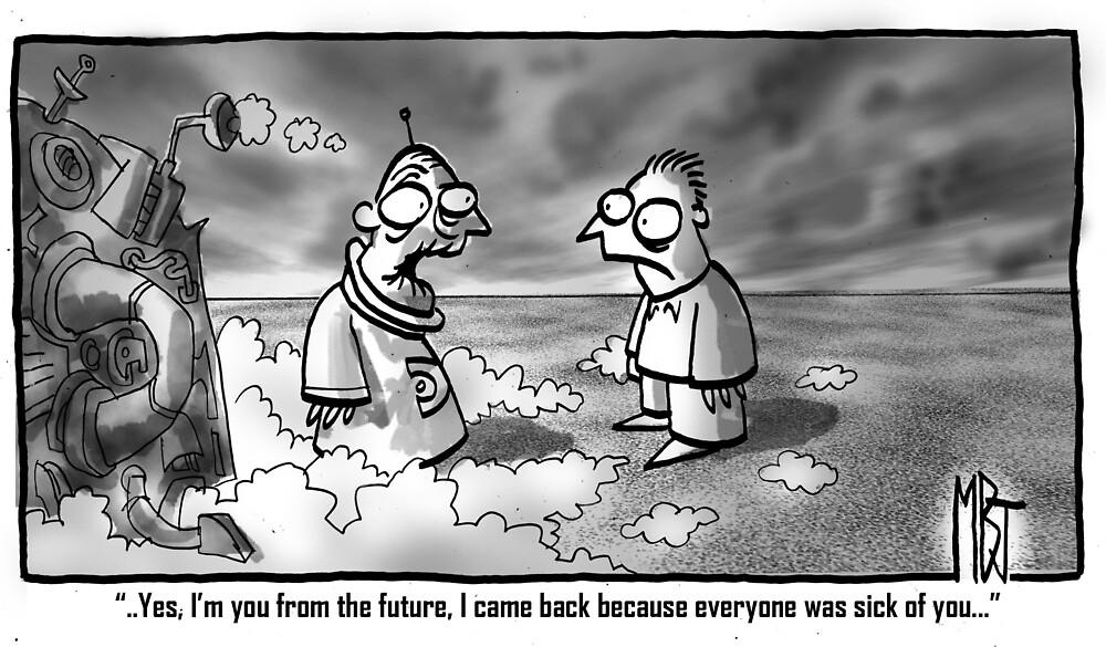 Future you by Matt Bissett-Johnson
