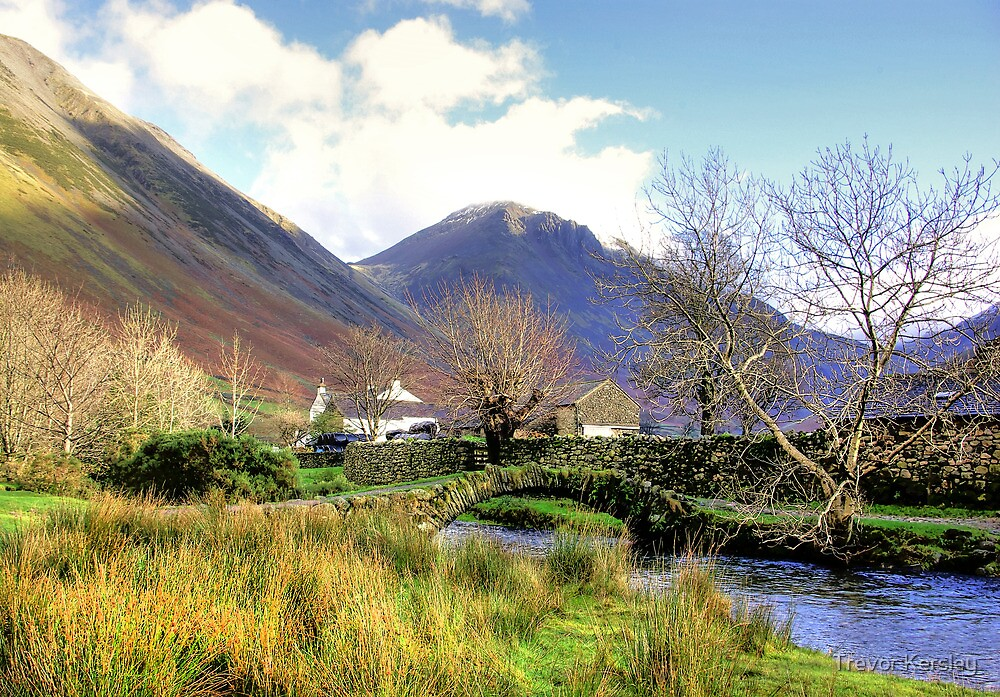 Packhorse Bridge - Wasdale Head #2 by Trevor Kersley