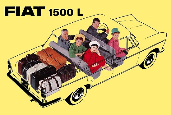 FIAT 1300-1500// ADESIVI MOTORE// ENGINE STICKERS
