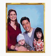 Asian Jim Halpert Photographic Print