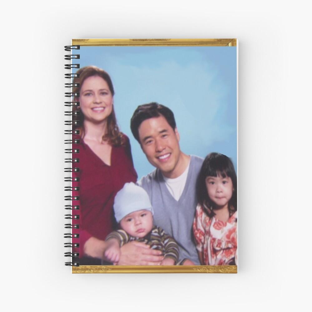 Asiático Jim Halpert Cuaderno de espiral