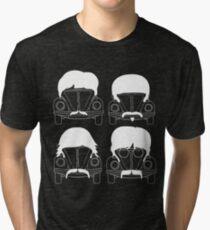 The Beatles - White Tri-blend T-Shirt