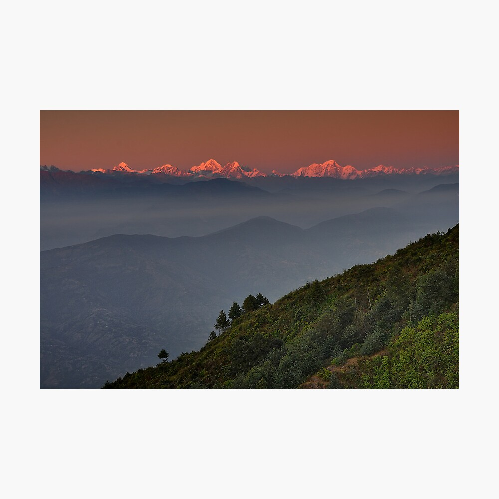 The Himalayas Photographic Print