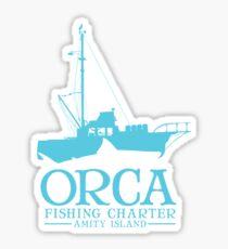 Orca Fishing Charter Sticker