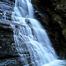 Pipestem Falls From The Base by Paul Lubaczewski