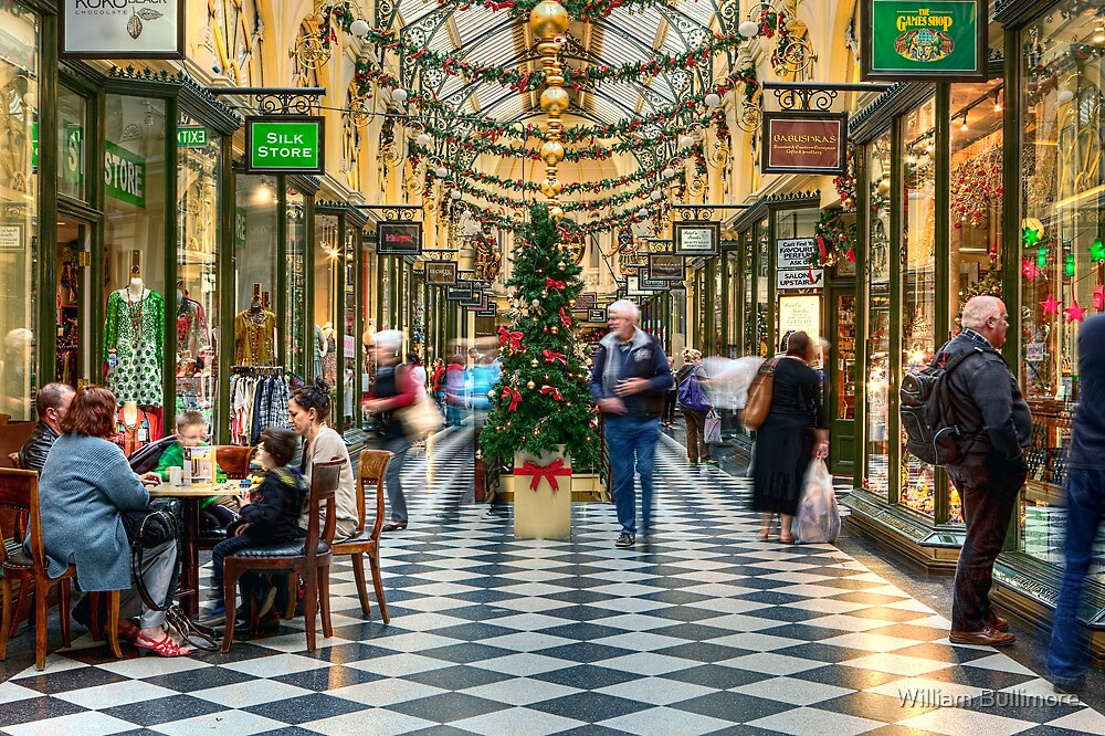 Royal Arcade • Melbourne • Australia  by William Bullimore