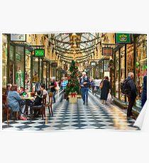 Royal Arcade • Melbourne • Australia  Poster