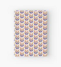 Cute kitty Hardcover Journal