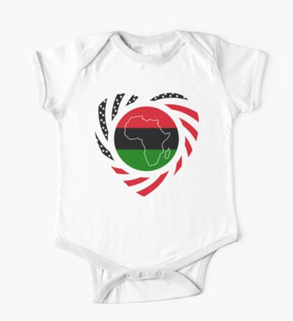 Black Murican Patriot Flag Series 2.0 Kids Clothes