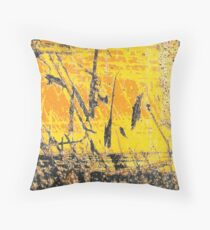 Low Tide at Sunset Throw Pillow