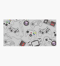 Gaming Controller Pattern Photographic Print