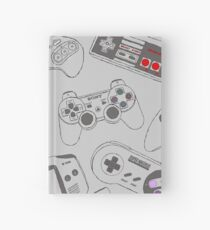 Gaming Controller Pattern Hardcover Journal