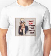 Shut Up! Slim Fit T-Shirt