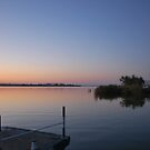 just the sun and the lake by Anastasesh