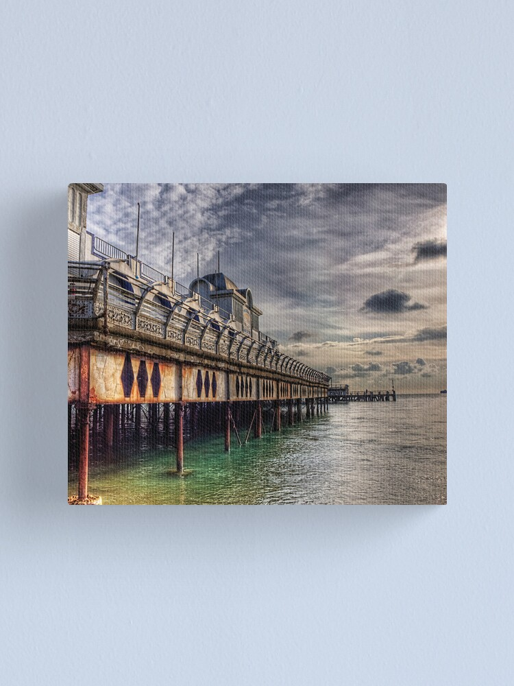 Alternate view of South Parade Pier Portsmouth  Canvas Print
