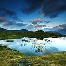 Guichard lake, Oisans, France by Willy Vendeville