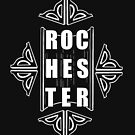 Show some love for Rochester with this design by Jon Gary