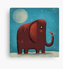 WOOLY FRIEND Canvas Print