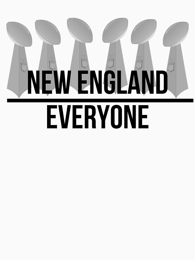 New England over Everyone by Biracialbooty