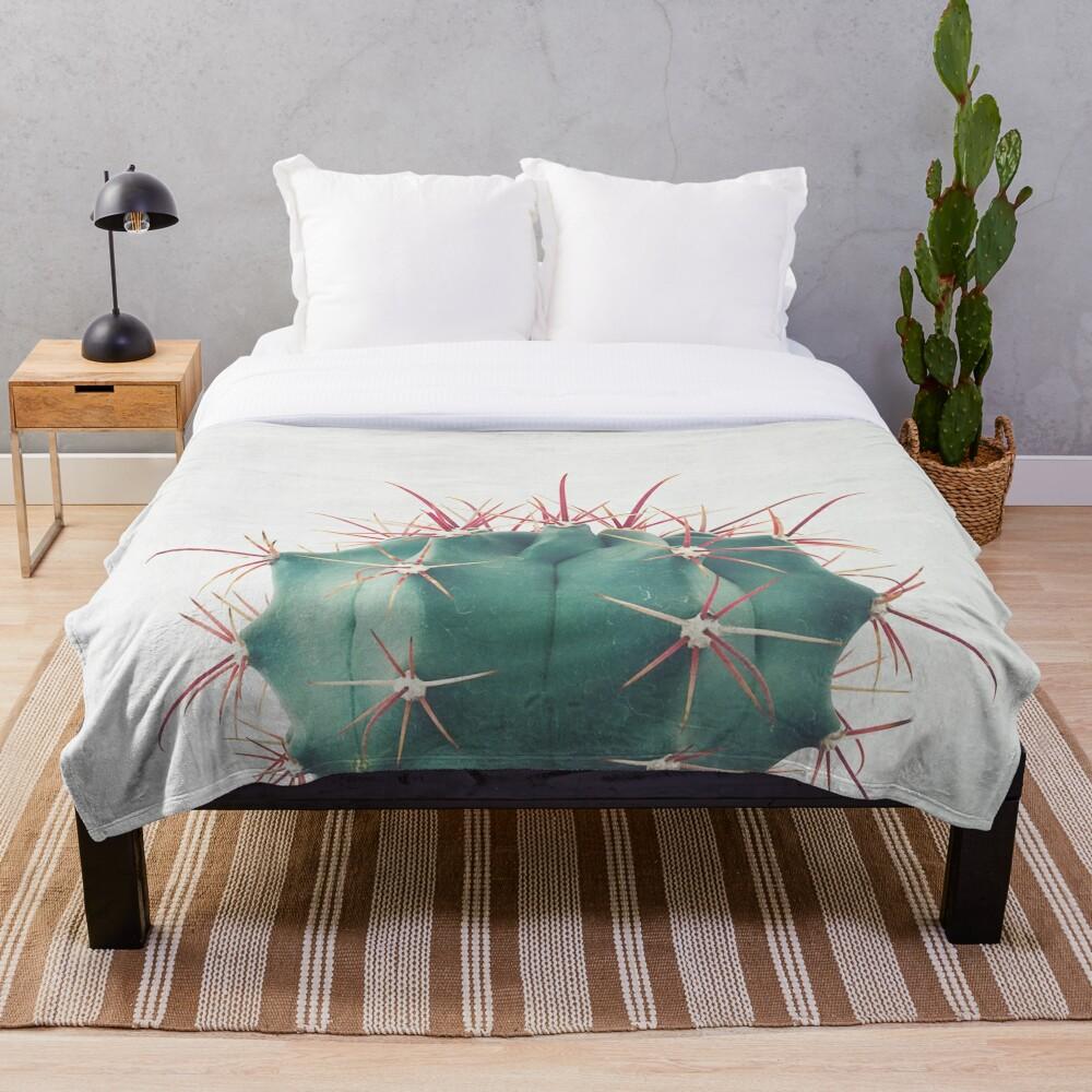 Ferocactus Throw Blanket