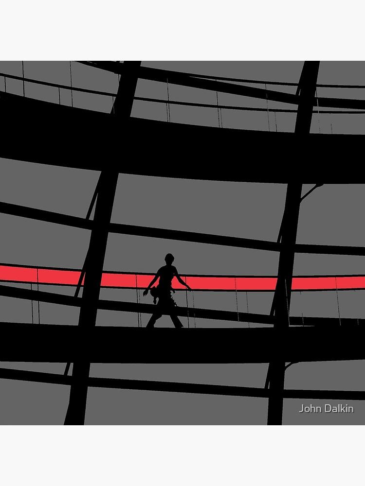 Red Stripe by JohnDalkin