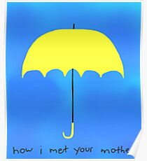 The Yellow Umbrella Poster