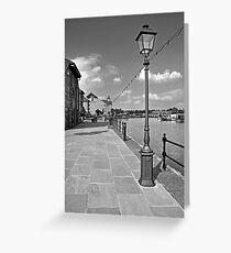 The Promenade, Barton Marina Greeting Card