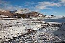 Embsay Crag In Winter by SteveMG