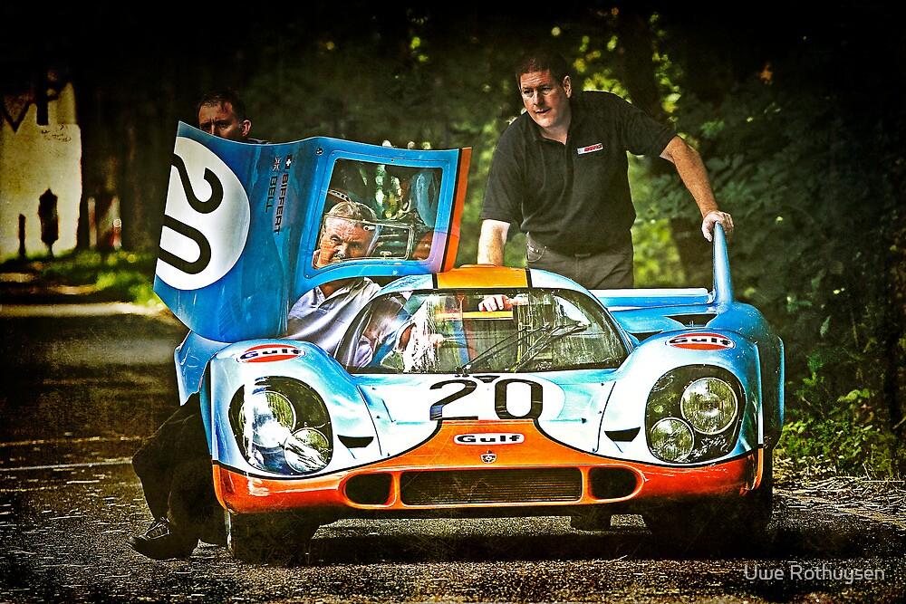 Careful with that car, Eugene by Uwe Rothuysen