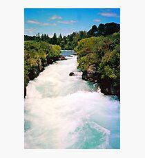 Haku Falls New Zealand Photographic Print