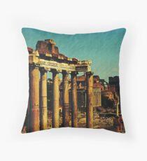 The Forum, Rome, Italy Throw Pillow