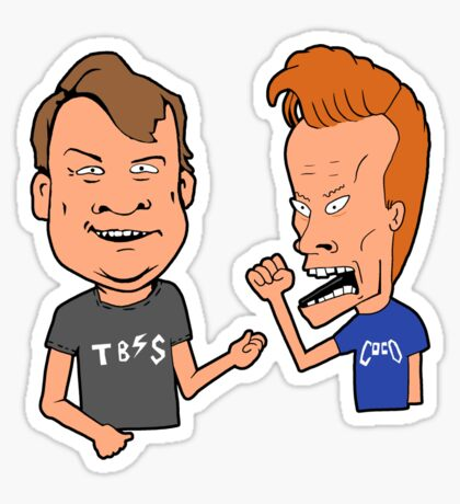 Andy and Conan Sticker