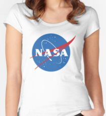 NASA Fitted Scoop T-Shirt