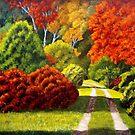 Autumn at Maudslay State Park by Gary Adams