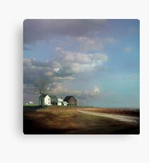 Rural Architectural Antiquity In Queen Anne's County, MD Canvas Print