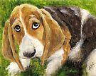 Puppy Dog Eyes by Michael Beckett
