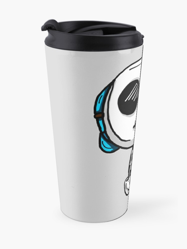Alternate view of Gumball Watterson from The Amazing World of Gumball™ wearing a Halloween Skeleton Costume Travel Mug