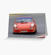 Porsche 911 - Eastern Creek Tasman Revival 2010 Greeting Card